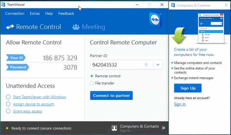 Стабильная версия Teamviewer для Windows 7, которую можно скачать бесплатно